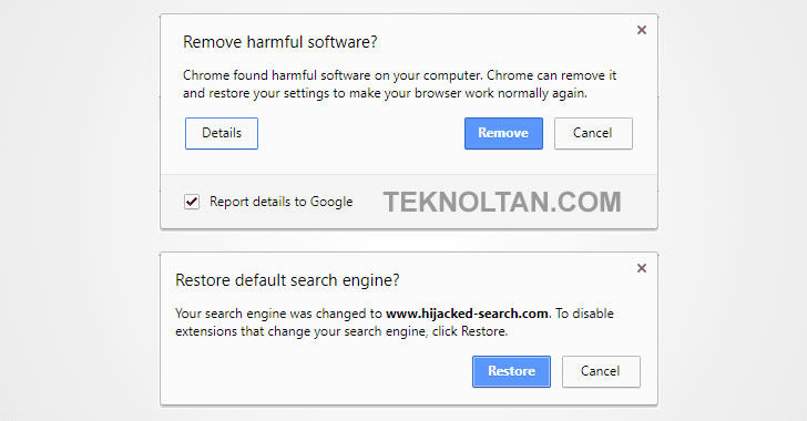 google chrome eset antivirus