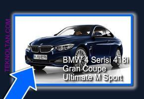 BMW 4 Serisi 418i Gran Coupe Ultimate M Sport