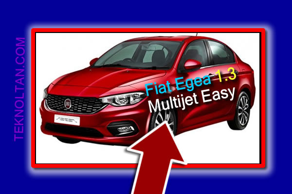 Fiat Egea 1.3 Multijet Easy