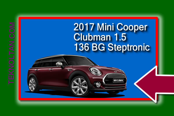 Mini Cooper Clubman 1.5 136 BG Steptronic