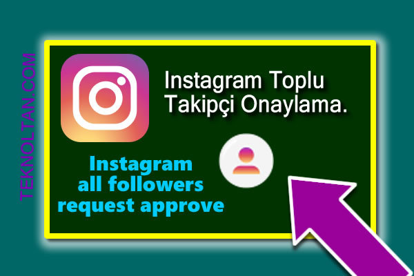 Instagram all followers request approve